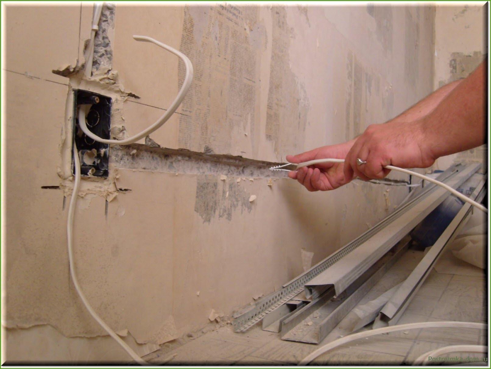 Электропроводка в квартире своими руками: схема, видео, фото 198