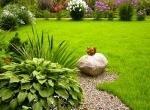 Из чего сделать садовую дорожку и про септик ЮНИЛОС