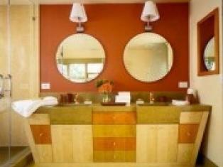 Облицовка ванной комнаты.