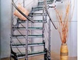 Ограждения для лестниц из нержавеющей стали