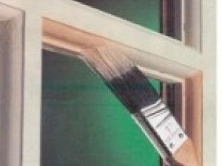 Ремонт и покраска старых деревянных окон