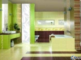 Выбор плитки и освещения в ванной